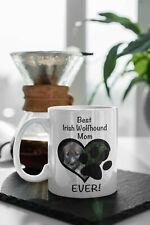 Best Dog Mom Coffee Mug Irish Wolfhound Personalized Pet Mug Pet Parent Gift Pet