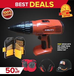 HILTI SF 151-A CORDLESS DRILL (TOOL ONLY), PREOWNED, FREE WOOD BITS,FAST SHIP