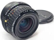 Pentax A Camera Lenses 28mm Focal