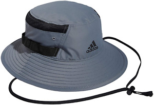 Men's Adidas Grey/Black Victory III Bucket Hat