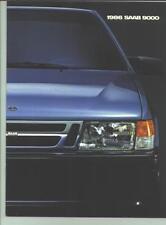 1986 Saab 9000 Sales Catalog