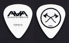 Angels & Airwaves Tom DeLonge Axe White Guitar Pick - 2010 Tour Blink-182