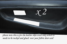 BLACK STITCH FITS NISSAN 200 SX S13 88-93  2 X DOOR CARD TRIM COVERS ONLY