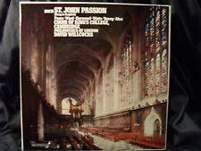 J.S. Bach-sr. John passion/willocks 3 LP BOX