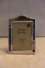 "Godinger Silver Art Co Silver Plate  Frame 3.5"" x 5"""