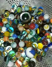 Mixed Lot Modern To Vintage Marbles Decorative Collection Collectable Glass