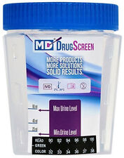 5 PANEL MD DRUG TESTING CUP with 6 ADULTERANTS (BOX OF 25)