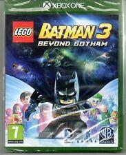 "LEGO BATMAN 3 Beyond Gotham ""NUOVO & Sealed' * XBOX ONE (1) *"