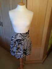 Zebra-Aztec print Firetrap skirt size 29 inchs, Beiges, Casual, Cotton, Puffball