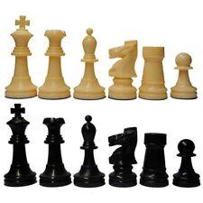 Piezas de ajedrez de plástico modelo Staunton 5/6
