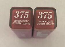 (2) Covergirl Colorlicious Lipstick, 375 Coquette Orchid