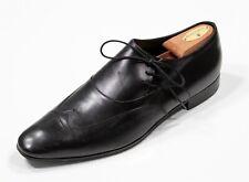 Saint Laurent Paris Noir Bout Asymétrique à Lacet Robe Chaussures 43.5 US 10.5