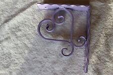Wrought Iron Heart Corbel