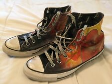 Converse All Star DC Comics The Flash Hi Top Shoes Sneakers Size M 6 W 8 Canvas