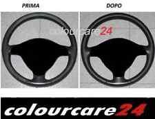 Kit Rinnova Colore Volante Pelle Ferrari NERO Ritocco tintura Interni Spider