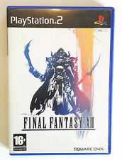 Final Fantasy XII PS2 PAL
