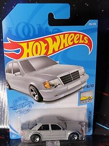 2021 Hot Wheels #145 Gray Mercedes-Benz 500 E. Nice Brand New Package