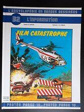 N° 32 Film catastrophe  TBE Encyclopédie en Bande Dessinées Ed Auzou