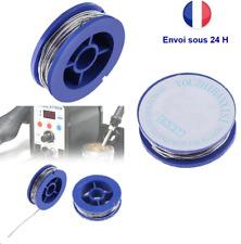 Fil à souder 0.8 mm 63% étain 37% plomb soudure électronique bobine de 1,70 m