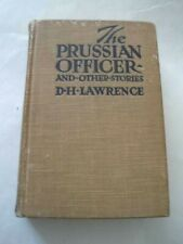 Prussian Officer & Other Stories D H Lawrence HC 1917 Huebsch Rare Classic Great