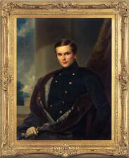 Old Master Art Antique Man Portrait of Gentleman Oil Painting Unframed 24x30 in