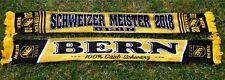 "Bern Schal ""MEISTER 2018""  Ultra Fan Kurve Block +neu+ 150x15 cm Suisse Schweiz"