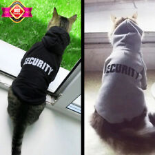 Cat Warm Clothes Security Jacket Coat For Small Dogs Outfit Winter Warm Costume