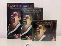 LANDS OF LORE II 2 Guardians Of Destiny Pc CD ROM Original BIG BOX Retro Gaming