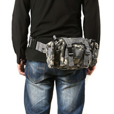 Practical Men Utility Military Tactical Waist Bags Camping Hicking Shoulder Bag