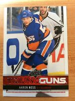 UPPER DECK 2012-2013 SERIES ONE AARON NESS YOUNG GUNS HOCKEY CARD #234