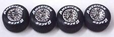 American Racer Tires (4) for 1/24 Scale model DIRT ADC  rubber style with tread