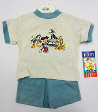 MICKEY MOUSE 18M MONTHS SET VINTAGE RETRO VTG STITCH BABY BABIES MINNIE CUTE