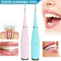 Electric Tooth Cleaner for Teeth Stain Ultrasonic Cleaning Oral Irrigator Tools