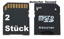 Micro SD auf SD Adapter für 2/4/8/16/32 oder 64 GB Speicherkarten (SD/SDHC/SDXC)