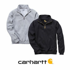 Carhartt Midweight Quarter Zip Mock Neck Sweatshirt - Arbeitspullover Herren