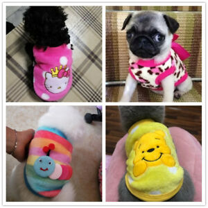 XXXS XXS XS Cute Teacup Dog Clothes Warm Hoodie Pet Puppy Sweater for Chihuahua
