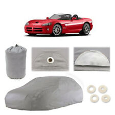 Dodge Viper 4 Layer Car Cover Fitted In Out door Water Proof Rain Snow Sun Dust