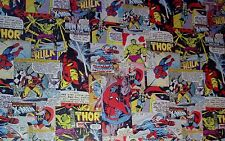 MARVEL Comics Retro Superhero Gift Wrap Wrapping Paper 4M x 69cm Roll
