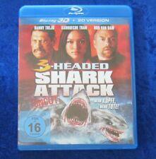3-Headed Shark Attack, 3D Blu-Ray + 2D Version