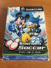 Game Cube Disney Sports Soccer NTSC-J Japanese