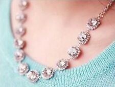 Crystal Jewel Statement Necklace