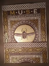 Muse 2013 Concert Poster Quicken Loans Arena Cleveland OH Justin Helton #/140