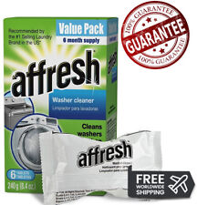 BEST Affresh Washer Machine Cleaner,Effectively remove dirt 6-Tablets, 8.4 oz