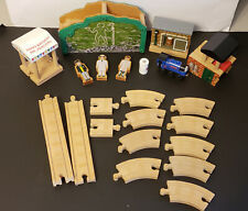 Thomas Tank Wooden Railway Man in The Hills Lot Almost Complete Mountain Train