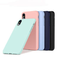 Liquid Silicone Phone Case for iPhone X Rubber Cover Microfiber Full Protective
