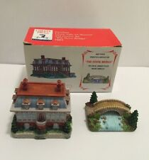 Liberty Falls Art Museum Ah 204 and Stone Bridge Ah226 in Original Box 2000