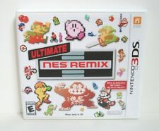 Ultimate NES Remix Case Artwork Only NO GAME Nintendo 3DS Replacement Original
