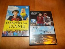 FLOWERS FOR FANNIE + PAWN'S MOVE Faith Based Family Friendly Films DVD SET NEW