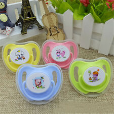 Infant Pacifier Butterfly Round Pacifiers Newborn Child Soother Silicone TOJB