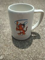 Vintage 1983 Seoul Korea Olympic OB Beer Mug Stein Cup Olympics Baseball Hodori